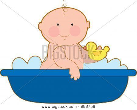 Baby Bath Boy
