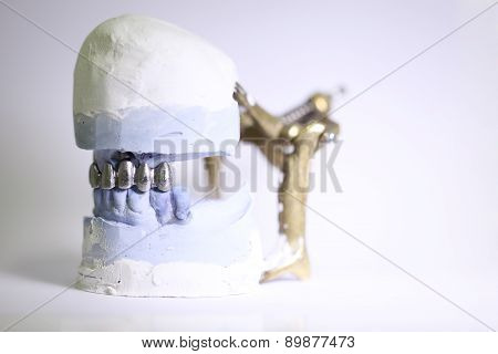 dental dentist objects, isolated on the table