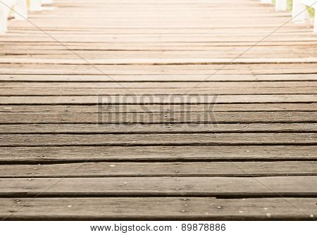 Deck Wood Walk Way