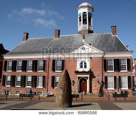 Town hall. Dokkum.Netherlands