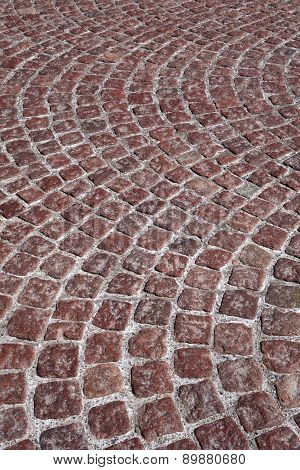 Red cobblestone