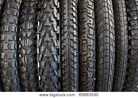 New Bicycle Tires With Different Tread