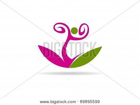 woman health logo