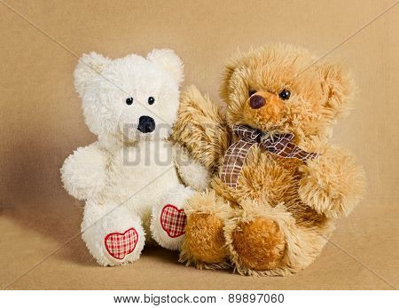 Two bears - toys