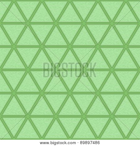 Light Green Background With Rhombs