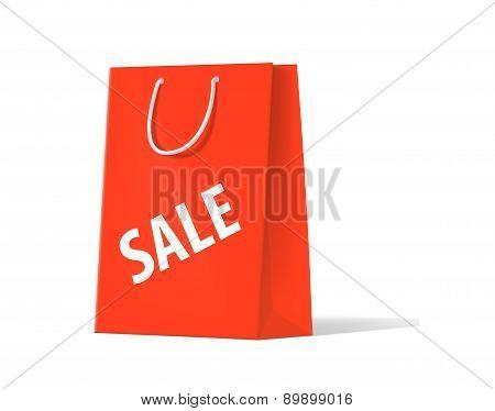 Shoplifting Red Handbag