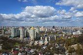 picture of kiev  - Kiev cityscape in spring - JPG