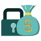 picture of cash  - Concept vector graphic - JPG