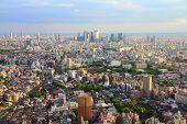 stock photo of ward  - Tokyo skyline  - JPG
