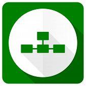 stock photo of cisco  - database flat icon   - JPG