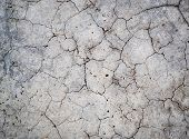 pic of concrete  - Grunge concrete cement wall with crack in industrial building great for your design and texture background - JPG
