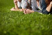 image of teenagers  - summer holidays - JPG