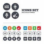 pic of music symbol  - Musical elements icons - JPG