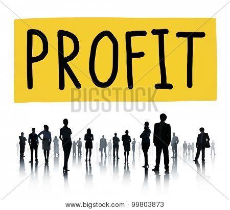 Profit Gain Financial Revenue Income Concept