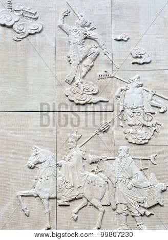 Chinese bas-relief