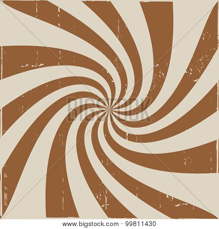 Brown creamy whirl pattern