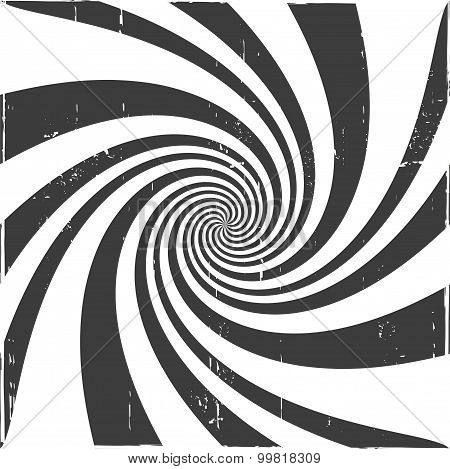 Spiral optical illusion background