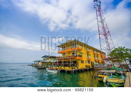 Bocas Del Toro Is The Capital Of The Province. This City Is Located On Isla Colon.