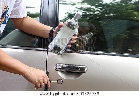 Concept Drunk Driver Social Problem
