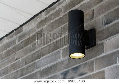 Cylinder Wall Light