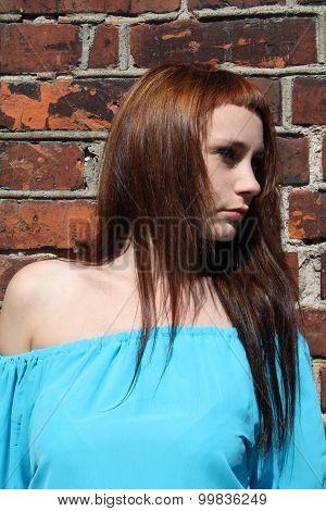 Woman Standing Outdoor