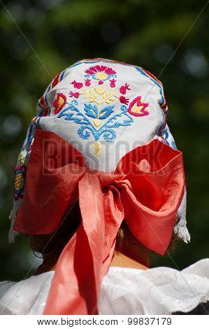scarf folklore Czech