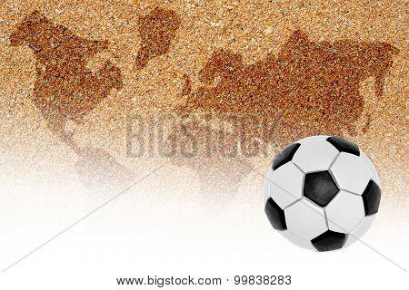 Football Playground For Beach Football