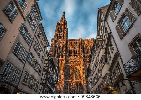 Cathedral Of Our Lady Of Strasbourg, Alsace, France
