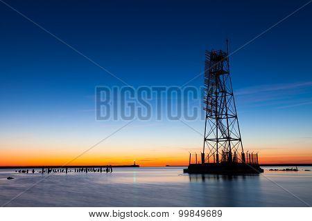 Skeletal Frame Light Tower