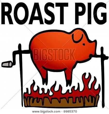 Cerdo asado