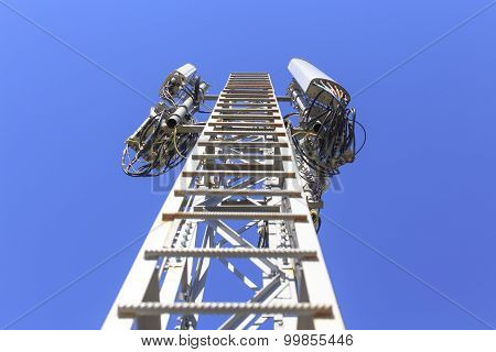 ladder on telecommunications tower