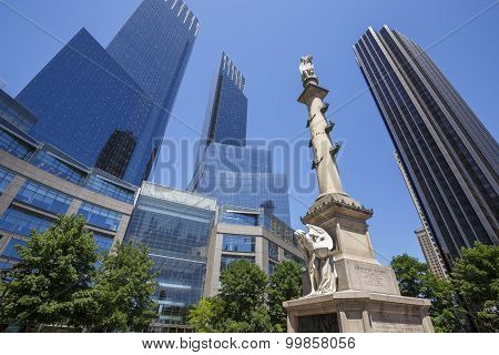 Columbus Circle. New York City, USA