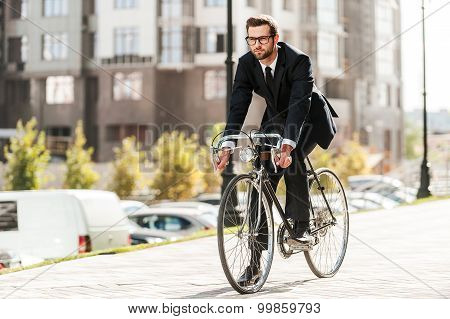Cycling Is The Way To Progress!