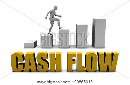 Improve Your Cash flow  or Business Process as Concept