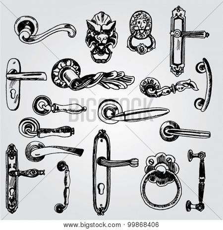 Set of Doorknobs