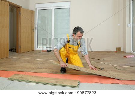 Laminate Flooring Of Room