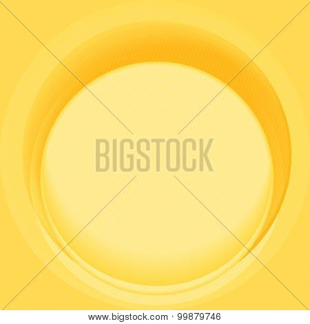Whirlpool yellow smooth twist background