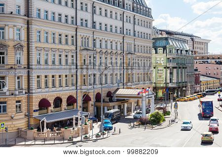 Balchug Street In Moscow City