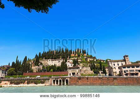 Hill Of St. Peter - Verona Italy
