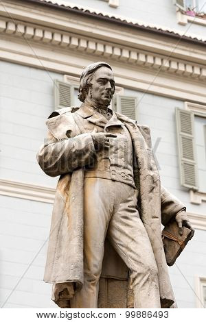 Monument To Vincenzo Gioberti - Turin Italy