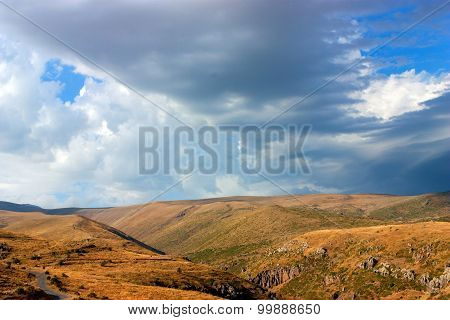 Armenian Mountains.