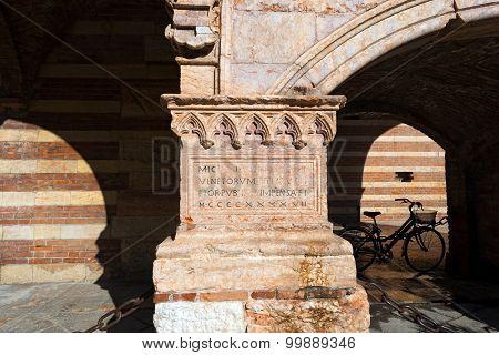 Picturesque Corner In Verona Italy