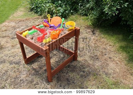 Sand Playpit.