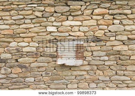 Old Brick Wall: Texture Of Vintage Brickwork - Stone Brick