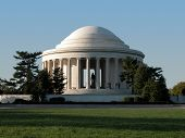 picture of thomas jefferson memorial  - The Jefferson Memorial in Washington D - JPG