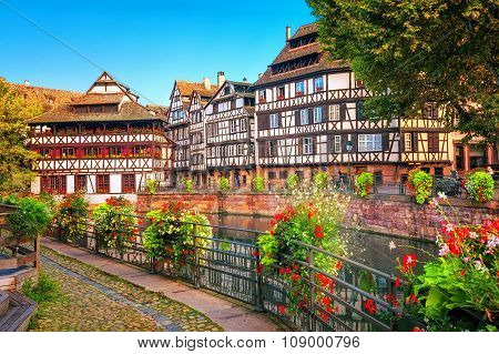 Strasbourg, La Petite France District, France