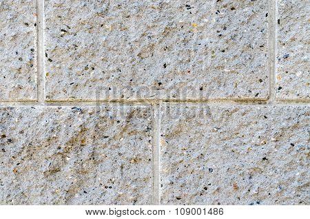 Old Brick Stone On Ground, Background.