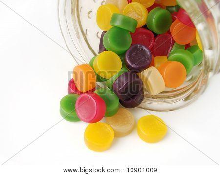 Wine gum sweets