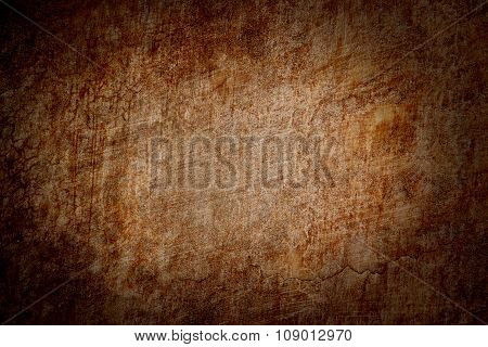 Old Grunge Brown Background Texture
