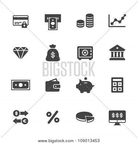 Solid Finance Icons